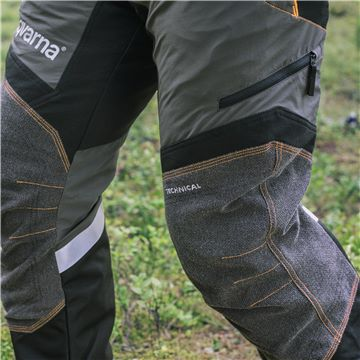 Усиленные части на коленях
