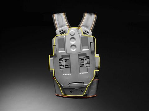 Шарнирное соединение аккумулятора с ремнем