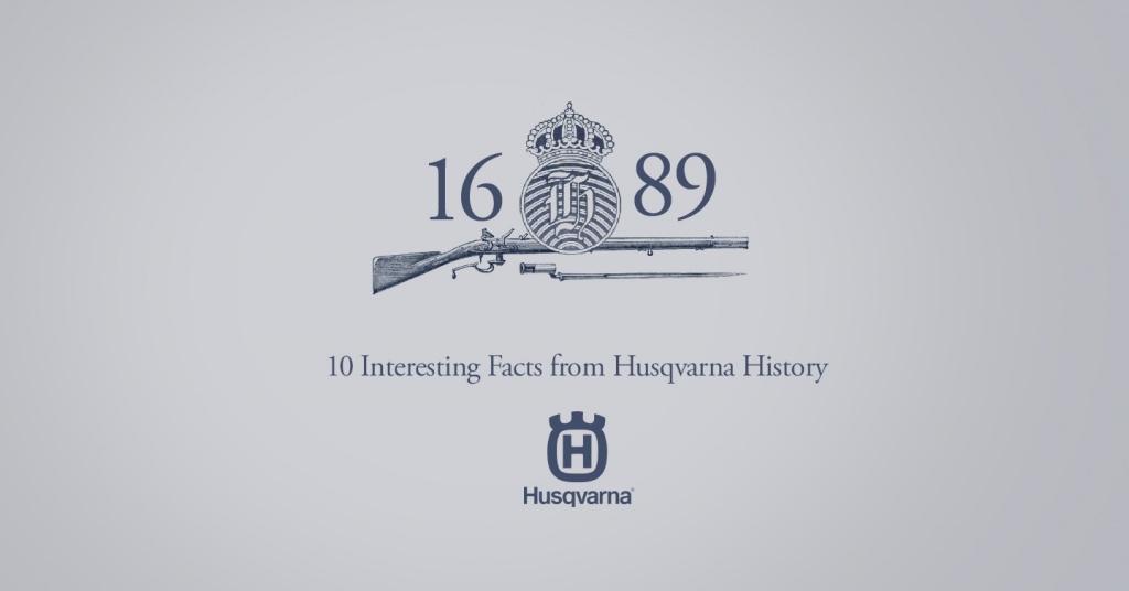 10 Интересных фактов об истории компании Husqvarna