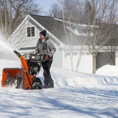 Убирайте снег без особых усилий!
