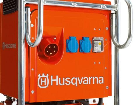 Гидравлический станция Husqvarna PP 455 E