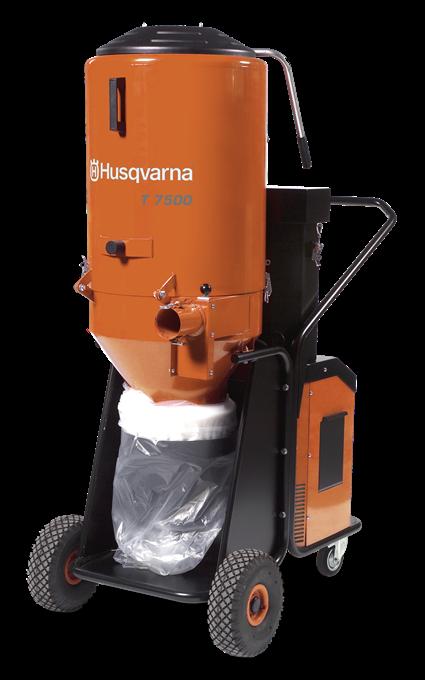 Строительный пылесос Husqvarna T7500 - купить у официального дилера Хускварна