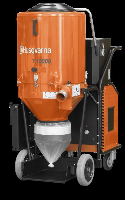 Строительный пылесос Husqvarna T10000 - купить у официального дилера Хускварна