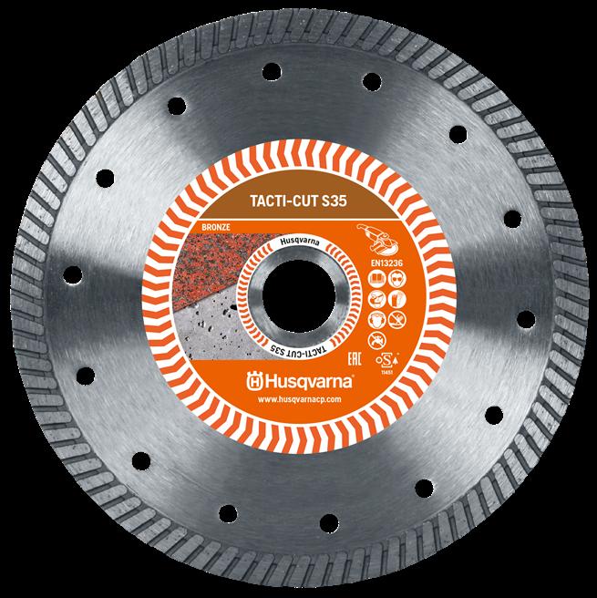 Алмазный диск Husqvarna TACTI-CUT S35 230 мм
