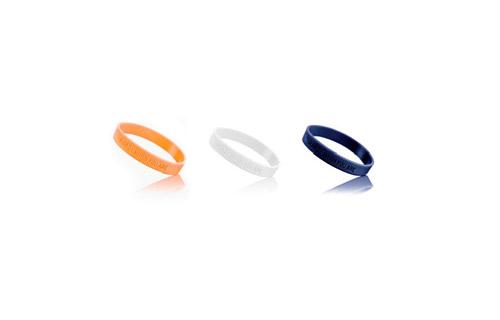 Комплект силиконовых браслетов Husqvarna (L)