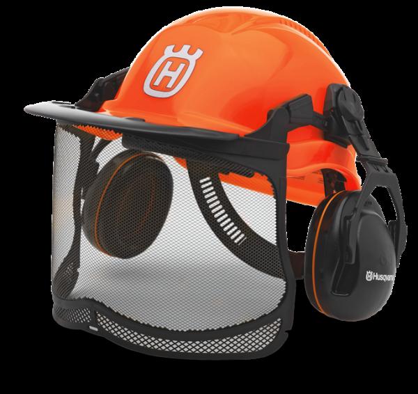 Шлем защитный Husqvarna Functional оранжевый