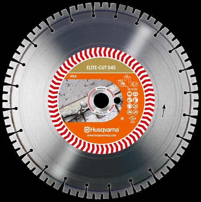 Алмазный диск Husqvarna ELITE-CUT S45 350 мм