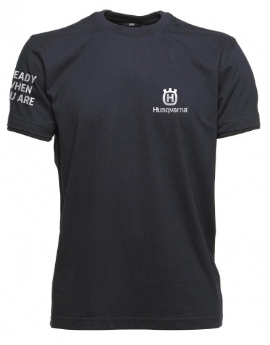 Футболка синяя Husqvarna (XL)
