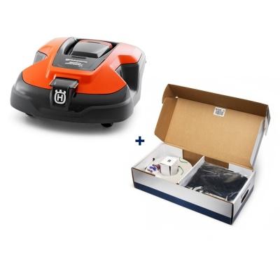 При покупке робота-газонокосилки Husqvarna набор для установки в ПОДАРОК!