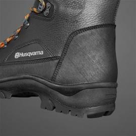Ботинки кожаные с защитой от пореза бензопилой Husqvarna Classic р. 44