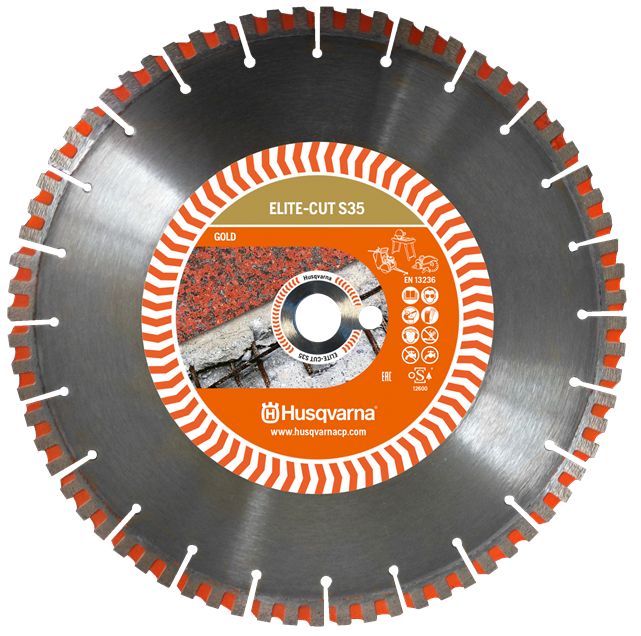 Алмазный диск Husqvarna ELITE-CUT S35 450 мм