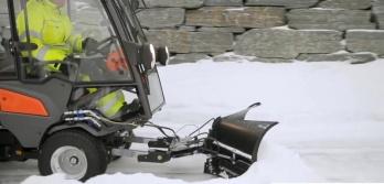 Снегоотвал Husqvarna с изменяемой геометрией (к R420TsX AWD)