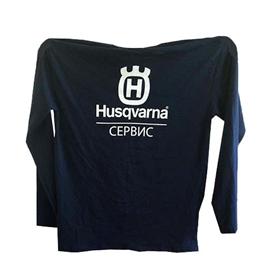 "Футболка с длинным рукавом Husqvarna ""Сервис"" (XL)"